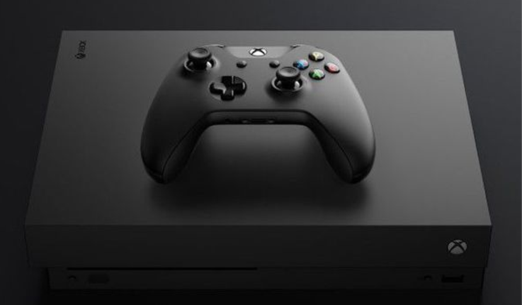 Launch of Xbox One X